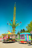 Fun Fair Ground in Brno, Czech Republic Royalty Free Stock Images