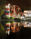 Fun Fair at Night Stock Photography
