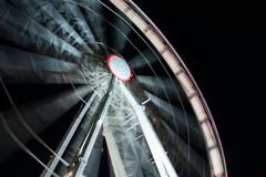 Fun fair by night Royalty Free Stock Photo