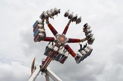 Fun fair ride Stock Photo