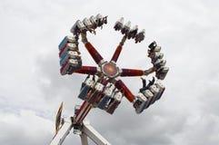 Fun fair ride. At Brean park Stock Photo