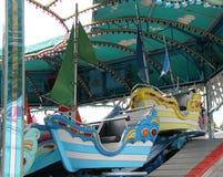 Fun Fair Sail Boat Ride. Stock Photos