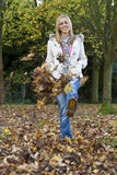 Fun In The Fall Royalty Free Stock Images