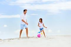 Fun father daughter Royalty Free Stock Photos