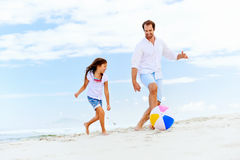 Fun father daughter Royalty Free Stock Photography