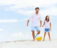 Fun father daughter Royalty Free Stock Photos