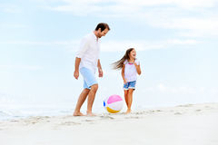 Fun father daughter Royalty Free Stock Photo