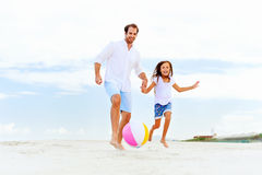 Fun father daughter Royalty Free Stock Image