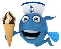 Fun fish Royalty Free Stock Photos