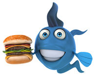 Fun fish Stock Images