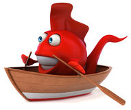 Fun fish Royalty Free Stock Images