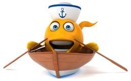 Fun fish Royalty Free Stock Photography