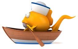 Fun fish Stock Images