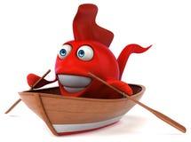 Fun fish Royalty Free Stock Image