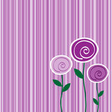 Fun Flower Background Royalty Free Stock Photos