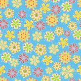 Fun flower background Royalty Free Stock Image