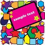 Fun flyer Royalty Free Stock Photos