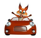 Fun Fox cartoon character Stock Photos