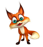 Fun Fox funny cartoon character Stock Photography