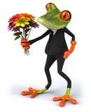 Fun frog Stock Image