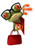 Fun frog Stock Photo