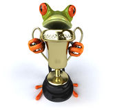 Fun frog Royalty Free Stock Photos