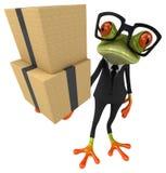 Fun frog royalty free illustration