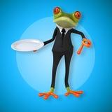 Fun frog Royalty Free Stock Image