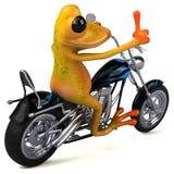 Fun frog - 3D Illustration Stock Photo