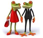 Fun frogs Stock Photos