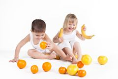 Fun fruits Royalty Free Stock Photo