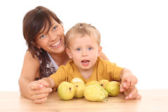 Fun with fruits Royalty Free Stock Photography