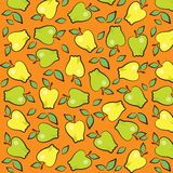 Fun Fruits : Apple Wallpaper Design Royalty Free Stock Photo