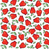 Fun Fruits : Apple Wallpaper Design Royalty Free Stock Image