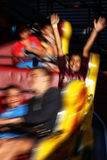 Fun at the funfair Stock Photography