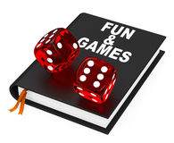 Fun and games Royalty Free Stock Images