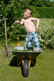 Fun with gardening Stock Photography