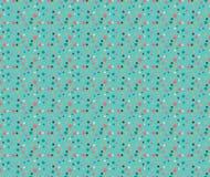 Fun Geometric Sprinkles Seamless pattern Stock Photo