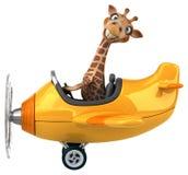 Fun giraffe Stock Images