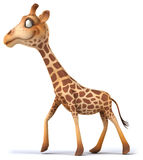Fun giraffe Stock Images