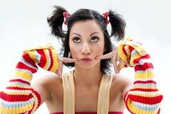 Fun girl Royalty Free Stock Photo