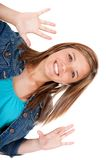 Fun girl portrait Royalty Free Stock Images