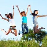 Fun girlfriends Stock Image