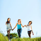 Fun girlfriends Royalty Free Stock Photography