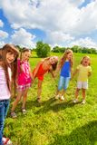 Fun for girls Royalty Free Stock Photo