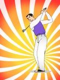 Fun golf Royalty Free Stock Photo
