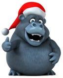 Fun gorilla - 3D Illustration Stock Photos