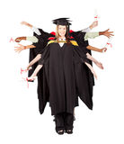 Fun graduation Royalty Free Stock Images
