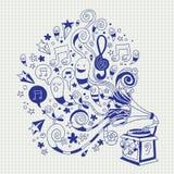 Fun gramophone Stock Image