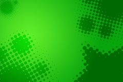 Fun green party background Stock Image